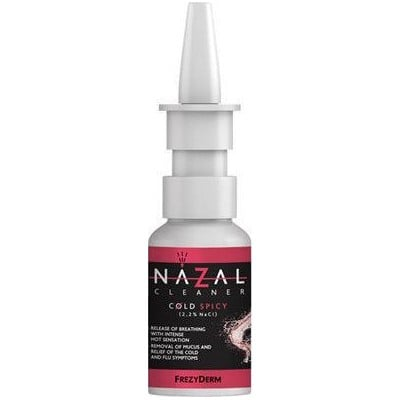 FREZYDERM NAZAL CLEANER COLD SPICY 30ML