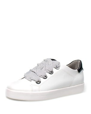 FASHION SNEAKER WITH WIDE LACES