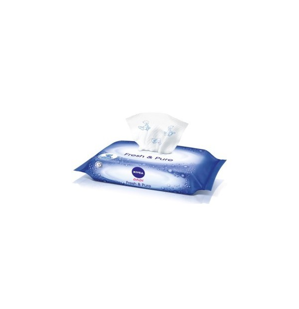 NIVEA BABY PURE ΜΩΡΟΜΑΝΤΗΛΑ 63ΤΕΜ