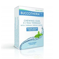 BUCCOTHERM SUGAR FREE CHEWING GUM 20 PIECES