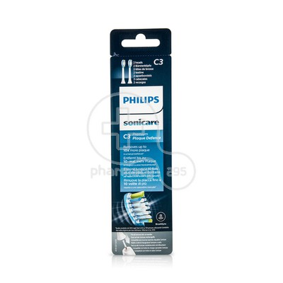PHILIPS - SONICARE C3 Premium Plaque Defense - 2τεμ.HX9042/17