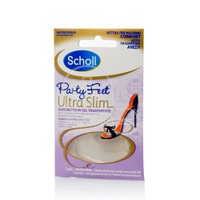 SCHOLL - Party Feet Ultra Slim Διαφανή πατάκια από ζελ - 1 pair