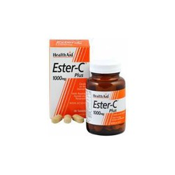 Health Aid ESTER C Plus 1000mg 30 ταμπλέτες