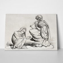 Bartholdi berbers playing lyre 81085180 a