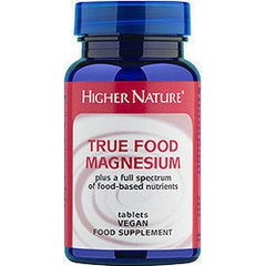 Higher Nature True Food Magnesium 30 ταμπλέτες