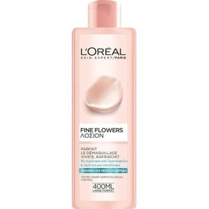 L oreal fine flowers normal combination lotion 400ml