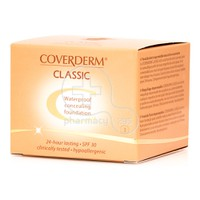 COVERDERM - CLASSIC Waterproof Concealing Foundation SPF30 (No3) - 15ml