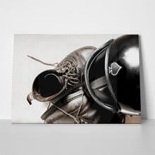 Helmet and leather boots 303281291 a