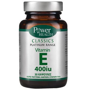POWER HEALTH Vit E 400iu 30caps