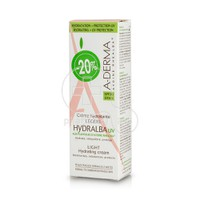 A-DERMA - HYDRALBA CREME LEGERE UV 40ml