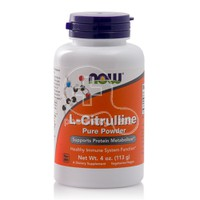 NOW - L-CITRULLINE Pure Powder - 113gr