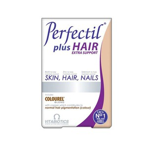 VITABIOTICS Perfectil plus hair extra support δέρμα-μαλλιά-νύχια 60tablets