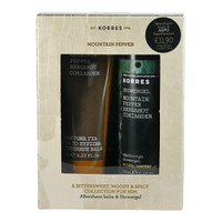 KORRES AFTER SHAVE MOUNTAIN PEPPER-BERGAMOT-CORIANDER 125ML (PROMO+SHOWERGEL 250ML)