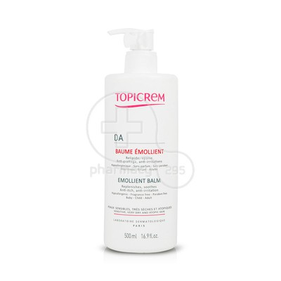 TOPICREM - DA Emollient Balm - 500ml