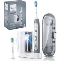 PHILIPS SONICARE ΗΛΕΚΤΡΙΚΗ ΟΔΟΝΤΟΒΟΥΡΤΣΑ FLEXCARE PLATINUM HX9172/14 GREY EDITION