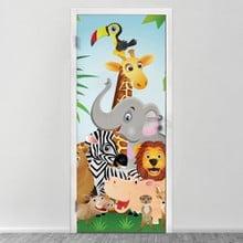 77dd3a5a3b3 Παιδικά. 29,50€. Αυτοκολλητο πορτας ZOO. Αυτοκόλλητα πόρτας ...