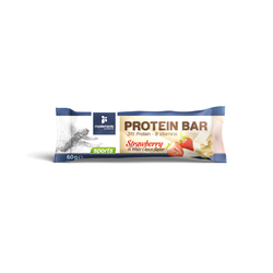 My Elements Sports Protein Bar 31% Protein - 8 Vitamins Strawberry & White Choco Flavor Μπάρα Πρωτεΐνης Με Γεύση Φράουλας & Λευκής Σοκολάτας 60g