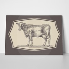 Cow graphical style frame 273896231 a