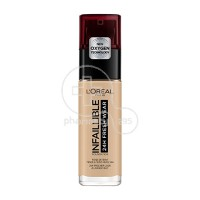L'OREAL PARIS - INFALLIBLE 24h Fresh Wear Foundation No120 (Vanilla) - 30ml