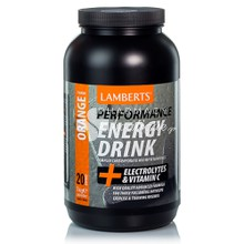 Lamberts ENERGY DRINK Orange - Πορτοκάλι, 1000gr