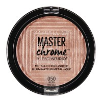 MAYBELLINE - MASTER CHROME Metallic Highlighter No050 (Molten Rose) - 9gr