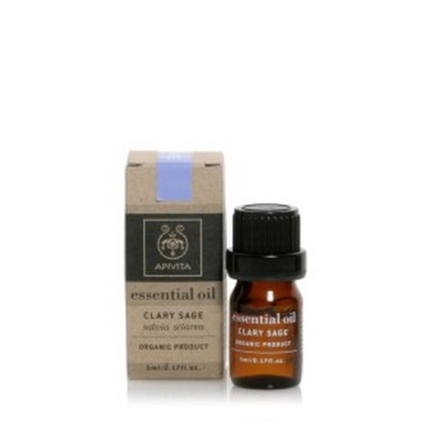 Apivita essential oil clary sage balance 5ml