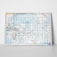 Pacific ocean nautical map 133177235 a