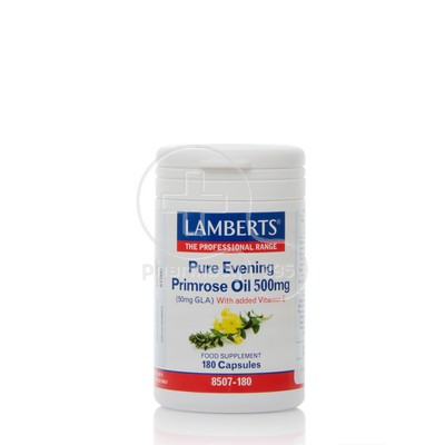LAMBERTS - Pure Evening Primrose Oil 500mg - 180caps
