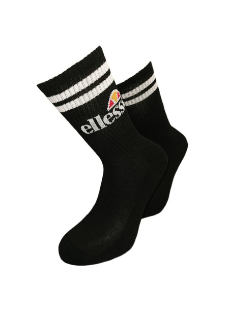 ELLESSE PULLO ONE PAIR SOCKS BLACK & WHITE SAAC0620