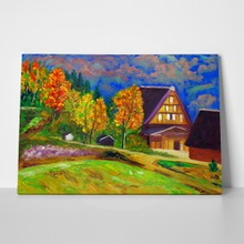 Country side oil painting 2 66719398 a