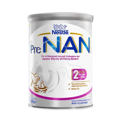 NESTLE - PRENAN 2 Stage Discharge (από τη γέννηση) - 400gr