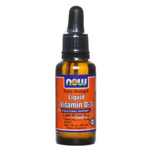Now foods vitamin d 3 liquid
