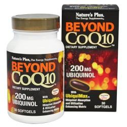 Nature's Plus Beyond CoQ10 Mε Ubiquinol 200mg 30 Kάψουλες
