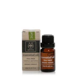 Apivita essential oil tea tree natural antiseptic 10ml
