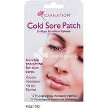 Carnation Cold Sore Patch 10 τεμάχια