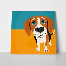 Illustration beagle dog 152133950 a