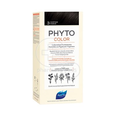 PHYTO - PHYTOCOLOR 3 Chatain Fonce