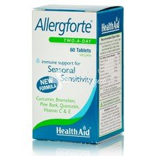 Health Aid ALLERGFORTE - Αλλεργίες, 60tabs