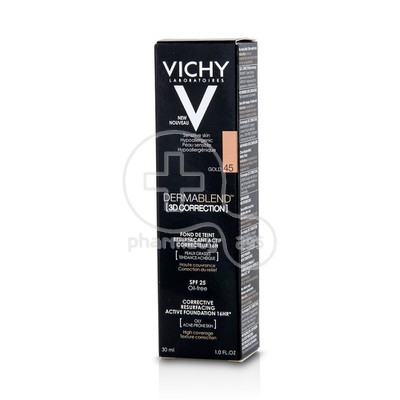 VICHY - DERMABLEND 3D Correction SPF25 Gold (45) - 30ml