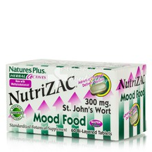Natures Plus NUTRI-ZAC - Άγχος, Στρες, 60 caps
