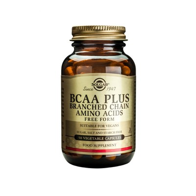 Solgar - BCAA Plus -  50veg.caps