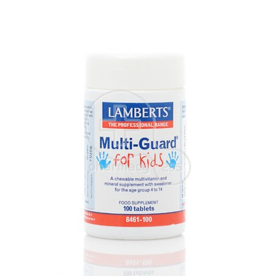 LAMBERTS - Multiguard for Kids - 100chew.tabs