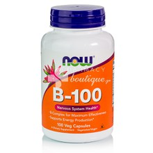 Now Vitamin B-100 Complex, 100caps