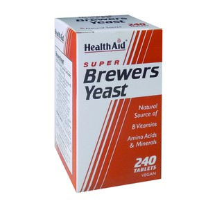 HEALTH AID Brewers yeast 240tabs
