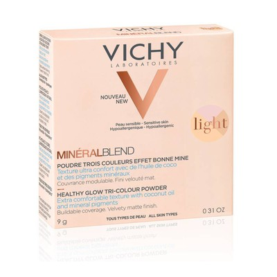 Vichy - Mineralblend Healthy Glow Tri-Colour Powder - 9gr (Σε 3 Παλέτες)