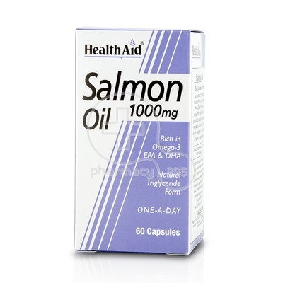 HEALTH AID - Salmon Oil 1000mg - 60caps