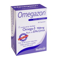 HEALTH AID OMEGAZON 750MG 60CAPS BLISTER