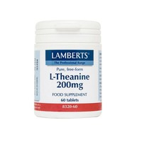 LAMBERTS L-THEANINE 200MG 60TABS