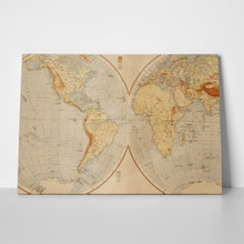 Old world map 1895 65918668 a