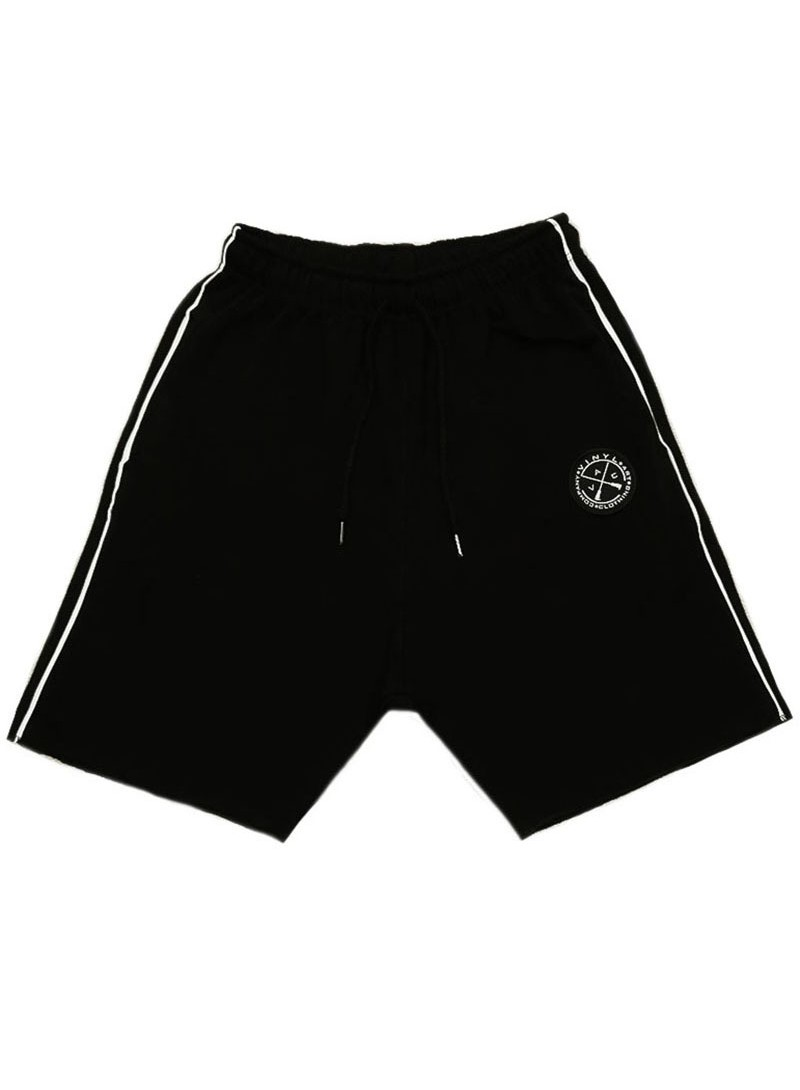 VINYL ART CLOTHING BLACK LINE SHORTS
